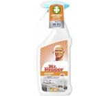 Mr. Proper Kuchyně antibakteriální tekutý čistič na odstraňování mastnoty a nečistot 750 ml rozprašovač