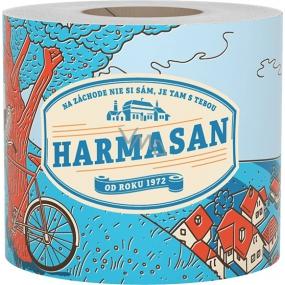 Harmasan toaletní papír 400 útržků 1 vrstvý 1 kus