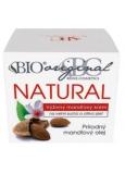 Bione Cosmetics Bio Mandle original natural výživný mandlový krém velmi suchá a citlivá pleť 51 ml