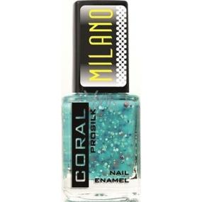 Delia Cosmetics Milano Coral Prosilk Nail Enamel lak na nehty M05 11 ml