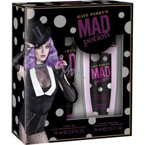 Katy Perry Mad Potion parfémovaný deodorant sklo pro ženy 75 ml + sprchový gel 75 ml, kosmetická sada