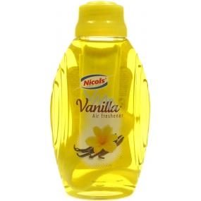 Nicols Air Freshener Vanilla osvěžovač vzduchu s knotem 375 ml