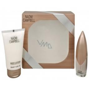 Naomi Campbell Naomi Campbell toaletní voda pro ženy 15 ml + tělové mléko 50 ml, dárková sada