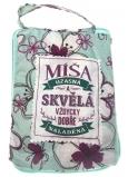 Albi Skládací taška na zip do kabelky se jménem Míša 42 x 41 x 11 cm