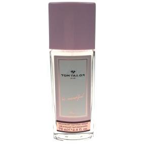Tom Tailor Be Mindful Woman parfémovaný deodorant sklo 75 ml