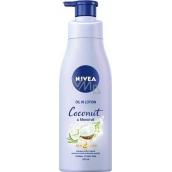 Nivea Coconut & Monoi Oil tělové mléko s olejem dávkovač 200 ml