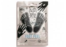 Barber Pro Peelingová textilní maska na chodidla pro muže 40 ml