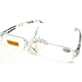 Berkeley Čtecí dioptrické brýle bez obrouček +3,0 do zelena CB01 1 kus MC2066
