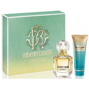 Roberto Cavalli Paradiso parfémovaná voda 50 ml + tělové mléko 75 ml, dárková sada