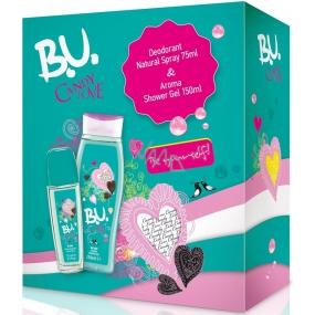 B.U. Candy Love parfémovaný deodorant sklo pro ženy 75 ml + sprchový gel 250 ml, pro ženy dárková sada