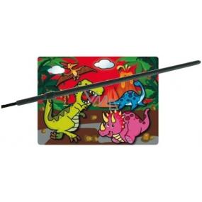 Magické malování vodou se štětcem Dinosauři 20 x 15 cm