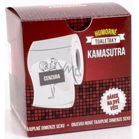 Albi Vtipný toaleťák s Kamasútrou, 20 metrů šustivého luxusu, Dárkový toaletní papír
