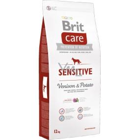 Brit Care Sensitive Venison & Potato bezobilné krmivo pro psy s citlivým trávením 12 kg