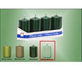 Lima Svíčka hladká metal mentolová válec 40 x 70 mm 4 kusy