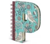 If Alphabooks Note Books Zápisník ve tvaru písmena P 91 x 14 x 124 mm