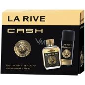 La Rive Cash Man toaletní voda pro muže 100 ml + deodorant sprej 150 ml, dárková sada