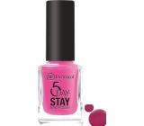 Dermacol 5 Day Stay Dlouhotrvající lak na nehty 38 Cherry Blossom 11 ml