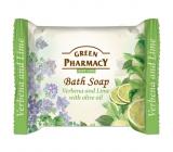 Green Pharmacy Verbena a Limetka s olivovým olejem toaletní mýdlo 100 g