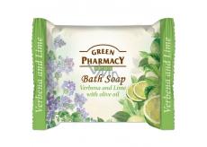 Green Pharmacy Verbena, Limetka a Olivový olej toaletní mýdlo 100 g