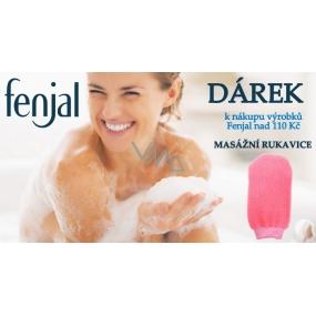 DÁREK Fenjal Masážní rukavice