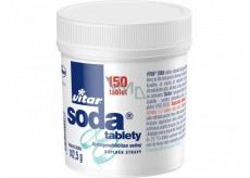 Vitar Soda tablety proti pálení žáhy, tlaku žaludku a při pocitu plnosti 150 kusů