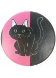 Albi Original Double Zrcátko do kabelky Kočka průměr 7 cm