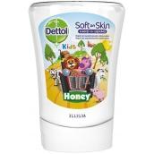 Dettol Kids Zoo Honey - Med tekuté mýdlo do bezdotykového dávkovače mýdla náhradní náplň 250 ml