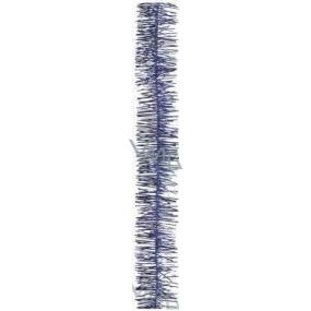 Řetěz vánoční, modrý délka 200 cm