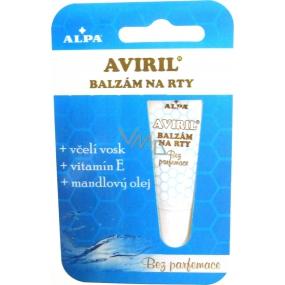 Alpa Aviril Bez parfemace balzám na rty 10 ml
