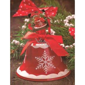 Nekupto Dárková papírová taška střední 916 30 WBM Červený zvoneček 23 x 18 x 10 cm