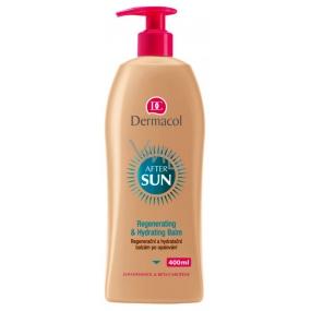 Dermacol After Sun Regenerationg & Hydrating Balm regenerační a hydratační balzám po opalování 400 ml