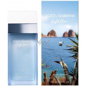 Dolce & Gabbana Light Blue Love in Capri toaletní voda pro ženy 25 ml