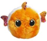 Yoo Hoo Rybička Klaun očkatý zakulacená plyšová hračka 9 cm