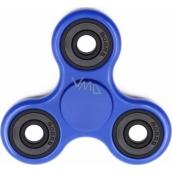 Fidget Spinner Klasik antistresová vychytávka modrý 7,5 x 7,5 cm