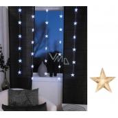 Star Trading Hvězdy opona LED teplá bílá 90 x 120 cm 30 kusů