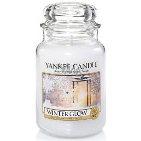 Yankee Candle Winter Glow - Zimní záře vonná svíčka Classic velká sklo 623 g