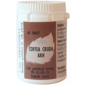AKH Coffea Cruda homeopatický doplněk stravy pomáhá k soustředění, proti bolesti, bušení srdce 60 tablet