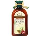 Green Pharmacy Arganový olej a Granátové jablko balzám pro suché a poškozené vlasy 300 ml