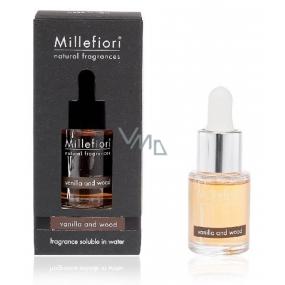 Millefiori Milano Natural Vanilla & Wood - Vanilka a dřevo Aroma olej 15 ml