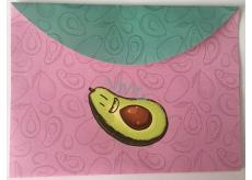 Albi Pouzdro na dokumenty růžové Avokádo B6 176 x 125 mm