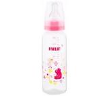 Baby Farlin Kojenecká láhev standardní 3+ měsíců růžová 240 ml AB-41012 G