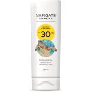 Nafigate Cosmetics Organic Sunscreen SPF30 opalovací emulze s přírodním UV filtrem 200 ml