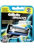 Gillette Mach 3 náhradní hlavice 4 kusy