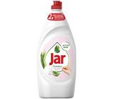 Jar Sensitive Aloe Vera & Pink Jasmine Scent Prostředek na ruční mytí nádobí 900 ml