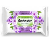 Freshmaker Berry Blossom - Květy kosmetické vlhčené ubrousky 100 kusů