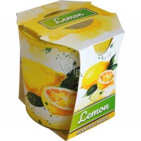 Admit Verona Lemon - Citron vonná svíčka ve skle 90 g