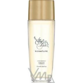 Celine Dion Signature parfémovaný deodorant sklo Tester pro ženy 75 ml