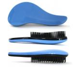 Dtangler Detangling Brush Kartáč pro snadné rozčesání vlasů 18,5 cm modrý