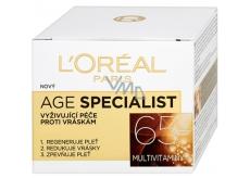 Loreal Paris Age Specialist 65+ vyživující denní krém proti vráskám 50 ml