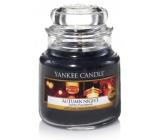 Yankee Candle Autumn Night - Podzimní noc vonná svíčka Classic střední sklo 411 g